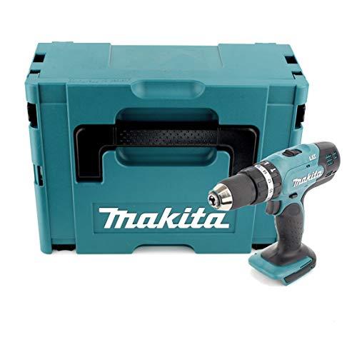Makita DHP 453 ZJ - Taladro atornillador inalámbrico (18 V, 42 Nm, sin batería ni cargador)