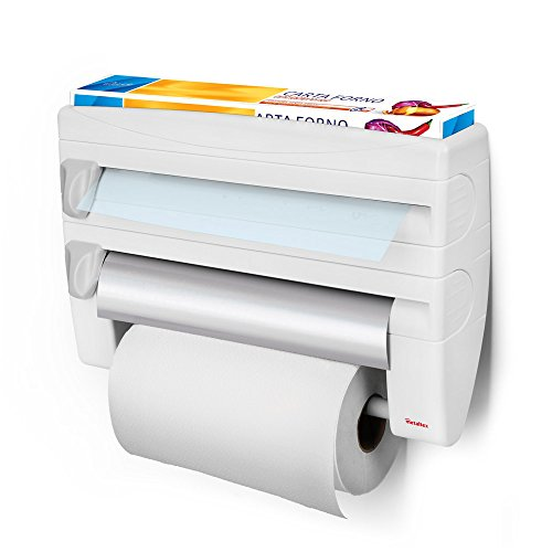 Metaltex Roll 'n Roll - Portarotolo 4 in 1