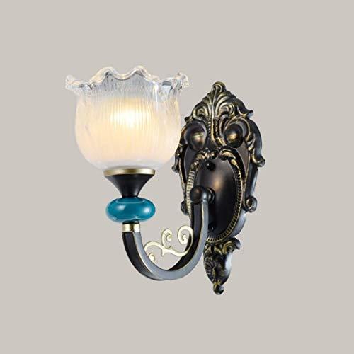 STERA Luz de la lámpara de pared de lectura de la mesita de noche, lámpara de pared de brazo oscilante de lectura, apliques de pared, lámpara de pared de la sala de estar, lámpara de pared del pasillo