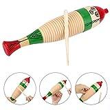 Holz Fisch Percussion Instrument Kinder Frühkindliche Lernspielzeug Kinder Musikalische Lehrmittel Kind Holz Musik Shaker Percussion Instrumente