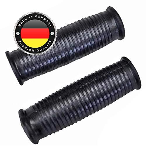 2 x Universal Schubkarrengriff | Griff | Schubkarre | Sackkarre | 23 mm Schwarz | Karrengriff