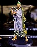 Hyzb Figura de acción 27cm Anime One Piece Hat fugure Modelo Roronoa Zoro New World Classic Straw Battle PVC Juguete de colección de regalo-17cm Luffy