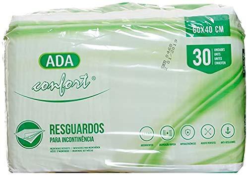 Sumedtec - Pack 30 unidades de Empapadores desechable con gran capacidad de absorción 60 x 40 cm, Suapel para camas de adulto y niños