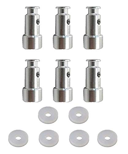 6 Pack Universal Replacement Floater and Sealer for Pressure Cookers XL, YBD60-100, PPC780, PPC770, and PPC790