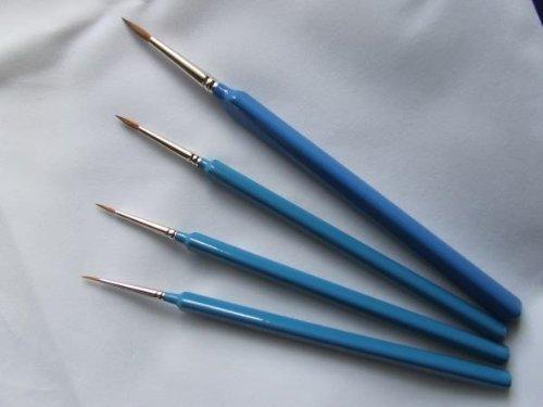Springer Pinsel Springer pinsel3338–3/0Dreikant Aquarells Pinsel mit Kolinsky Haar (Größe 3/0)