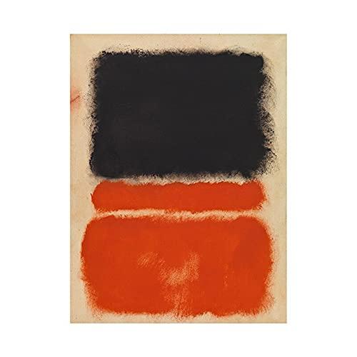 Mark Rothko astratti colorati su tela poster e stampe quadri quadri familiari quadri su tela senza cornice A10 30x45cm