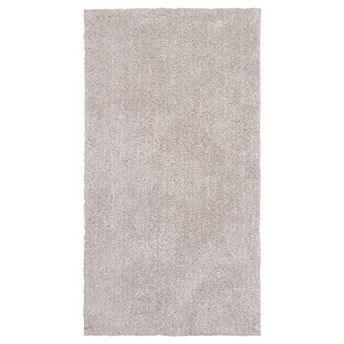 MBI Teppich Hochflor beige 80x150 cm Länge: 150cm Breite: 80cm Stärke: 9mm Fläche: 1,20m2 Flächendichte: 1610 g/m2, Florbezug: 950g/m2, Florlänge: 26mm