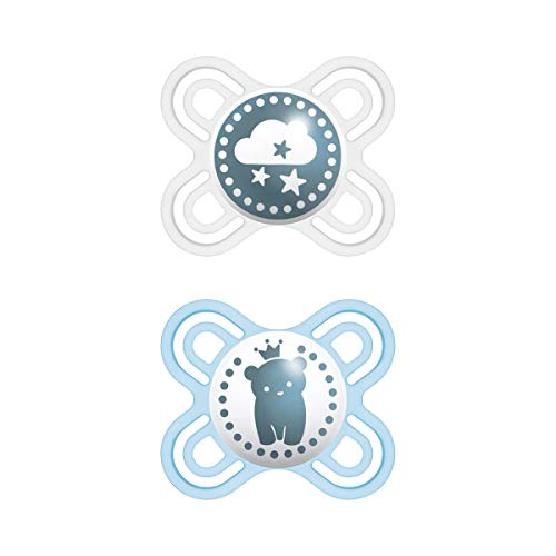 MAM Perfect Start 70584711 Tétine en silicone Bleu 0-2 mois