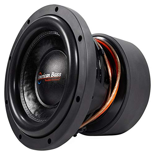 "American Bass HD10D1 HD 10"" 4000w Competition Car Subwoofer 300Oz Magnet, 3"" VC"