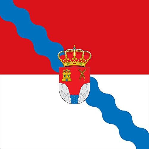 magFlags Bandera Large Santa Olalla del Valle Villagalijo | 1.35m² | 120x120cm