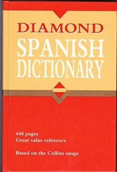 Hardcover Diamond Spanish Dictionary Hb Book