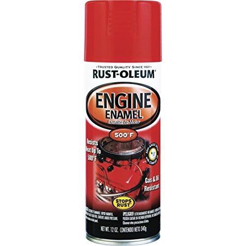 12 Oz Chevy Orange Engine Enamel Spray Paint 248941 [Set of 6]