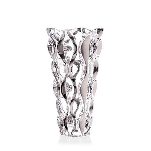 Decorative Crystal Glass Silver