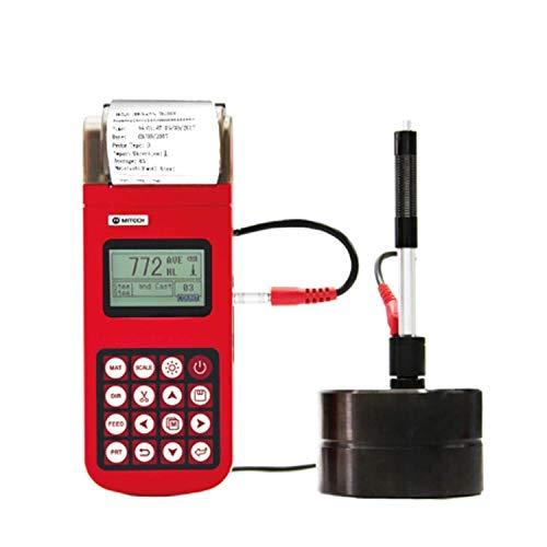 QGL-HQ Instrument de Mesure numérique de dureté Portable testeur MH320 Duromètre numérique Portable Leeb testeur de dureté avec testeur d'essai Professionnel de l'imprimante