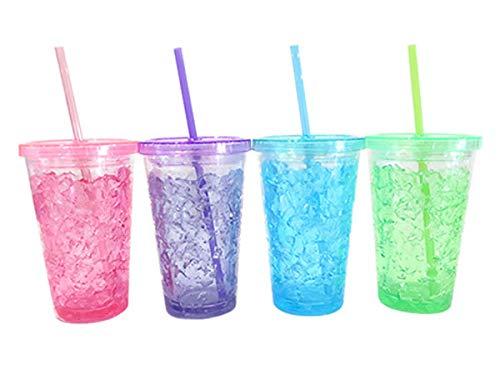 Lista de Vasos de plastico con popote del mes. 4