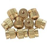 TOOGOO 10Pcs Tenor Horn Key Button Piston Value Tornillos para Trompeta Tenor Horn Cornet Tuba Accesorios