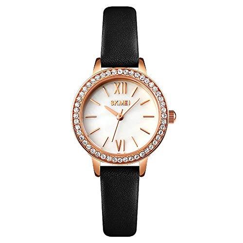 YIBOKANG Moda Creativa De Mujer Taladro De Agua Impermeable Reloj De Cuarzo Personalidad Regalo Casual Reloj De Moda (Color : 10)