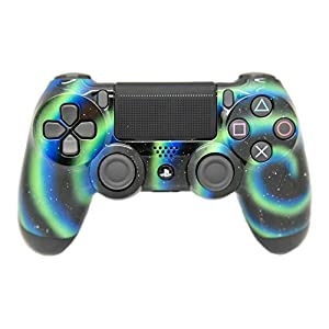 Hand Airbrushed Fade Playstation 4 Custom Controller (Blue & Black Fade)