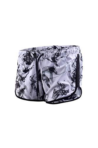 BOXEUR DES RUES - Pantaloncini da Donna Traspiranti con Logo Stampato, Donna, L
