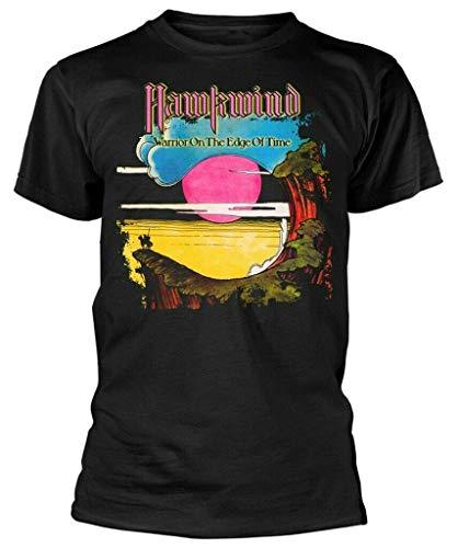 PUPO Rare! Hawkwind T Shirt Warrior Black Mens New(3XL)