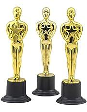 NUOBESTY Gouden Award Trofeeën Trofee Beelden Oscar Award Reward Prijzen voor Party Ceremonie Waardering Gift 6 Stks