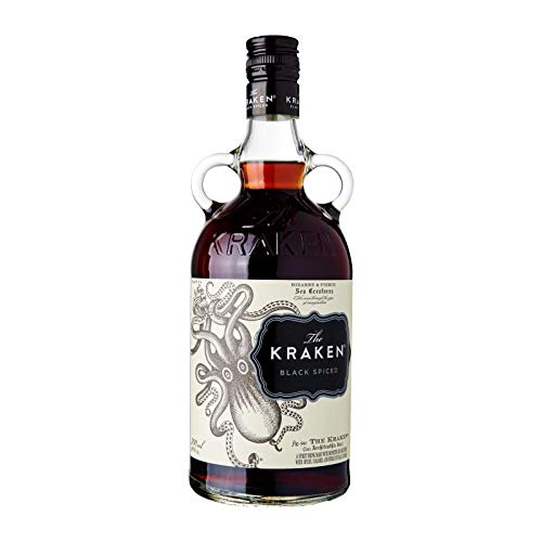 The Kraken, Black Spiced Rum,...