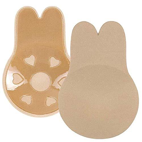 EgBert 3 Pares de Silicona Pasties Breast Lift - Las Mujeres Cubren el Sujetador Invisible Sujetador, Reutilizable Lifting Bra Cups Breathable Cubierta de pezón para Las niñas