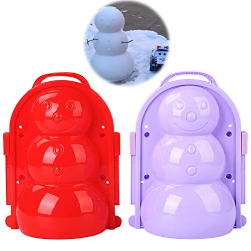 Amiispe Schneeballformer: Profi-Schneeballzange Winter Schnee Scoop Clip Sand Tonformwerkzeug Kinder Spielzeug