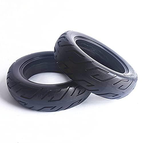 HAPPY-HAT 10 Pulgadas 10X2.70-6.5 Macizas Neumáticos-Antipinchazos Goma Neumáticos para Scooter No Inflable,antiexplosivos Rueda De Repuesto Reemplazo para Scooter