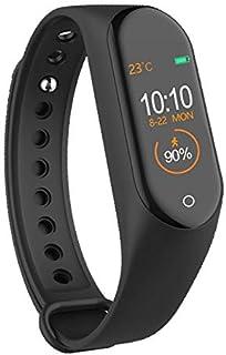 LINGJIA Pulsómetros Smart Band Fitness Tracker Relojes Deportivo Pulsera Corazón Frecuencia Arterial Smartband Monitor De La Pulsera De La Salud