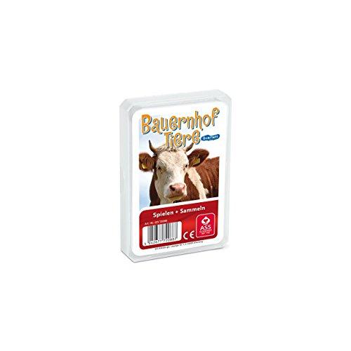 ASS Altenburger 22572088 - Quartett - Bauernhoftiere, Kartenspiel