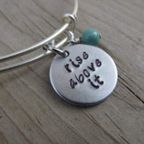 Hand-Stamped Bangle Time Latest item sale Bracelet