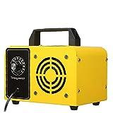 NIDONE Máquina de ozono Purificador de Aire Máquina de ozono Desodorizador de Aire Industrial para el Control de la Parada de olores Amarillo 48G