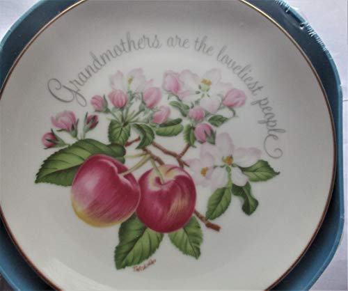 Grandmothers are The loveliest People Lasting Memories Genuine Porcelain 6