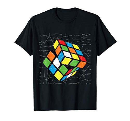 Zauber Würfel, Physik, Mathematik, Nerd, Cube Design T-Shirt