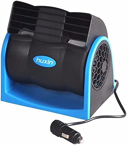 WANGXIAOLINJINGZI Fanático del Coche Ventilador eléctrico para automóviles/Ventilador de automóviles/de Coche/Fan Ventilador de Aire Acondicionado Grande (Color : 12v)