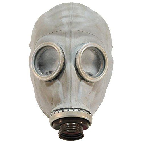 Máscara de gas militar y bolsa de hombro del ejercito ruso, color gris, grado 1