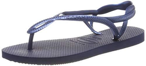 Havaianas Luna, Sandalias para Mujer, Azul (Navy Blue), 39/40 EU