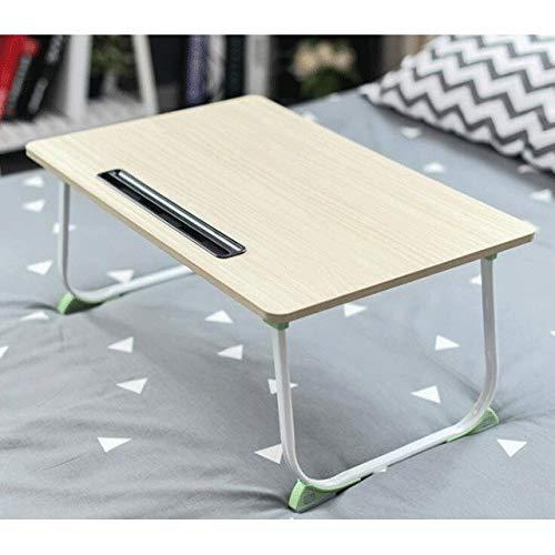 Movable escritorio del ordenador portátil plegable portátil de escritorio de la computadora de escritorio Lazy Pequeño Tabla uso en la cama simple de diseño Mesas de 40x60cm for portátiles Mesa Auxili