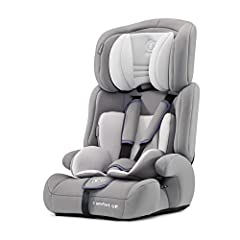 Barnkraft bilbarnstol KOMFORT UPP, bilbarnstol, bilbarnstol, bilbarnstol, grupp 1/2/3 9-36kg, 3-punkts säkerhetsbälte, justerbart pannstöd, ECE R44/04, grå