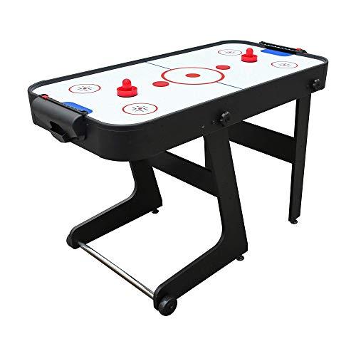 PUCK Calix 4-Foot Folding Air Hockey Table (Black)