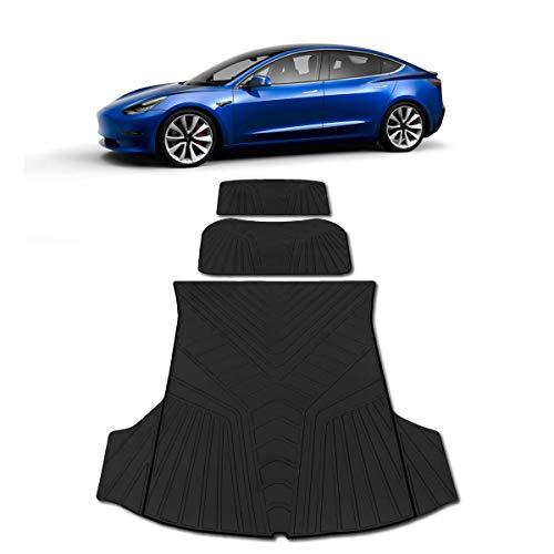 Tesla Model 3 Trunk Frunk Storage Mat - Set of 3...