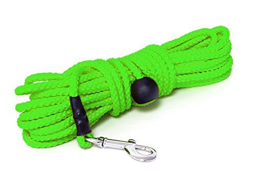 Mystique® Nylon Feldleine rund 7mm neon grün (Standard, 5m)