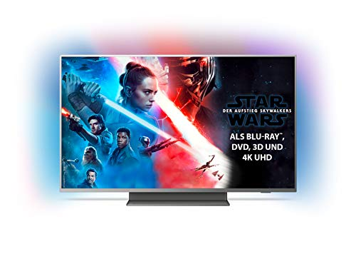 Philips Ambilight 50PUS7504/12 Fernseher 126 cm (50 Zoll) Smart TV (4K UHD, P5 Perfect Picture Engine, HDR 10+, Dolby Vision, Dolby Atmos, Android TV)