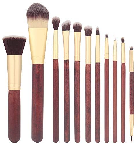 Pinceau de maquillage 11 nouveaux outils de beauté de séquoia visage pinceau de maquillage complet débutant pinceau de maquillage
