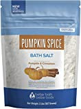 Bath Salt With Pumpkin Spice: Clear Your Mind And Soothe Your Body With This Pumpkin Spice Fragrant Oil Bath Soak Highest Quality Ingredients: Made With USP Grade Epsom Salt, Therapeutic Pure Essential Oils, & Vitamin C Crystals - No Perfumes, No Dye...