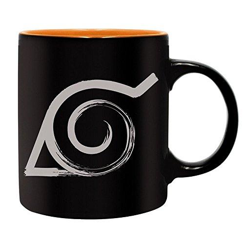 Naruto Shippuden - Keramik Tasse - Konoha Logo - Geschenkbox