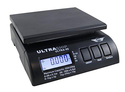 My weigh Ultra-55 Paketwaage bis 25kg . Mit extra Briefhalter f�r die B�roarbeit