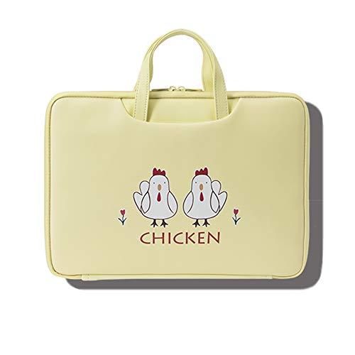 Laptoptas voor dames, 13-15,6-inch laptoptas voor werk op kantoor met stevige tophandgrepen voor zaken/school/reizen