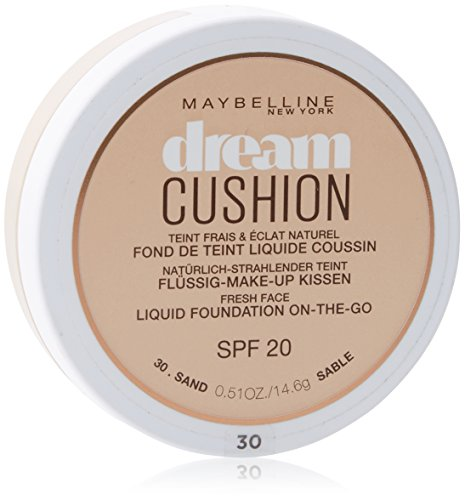 Maybelline Dream Cushion - Flüssige Foundation SPF 20, Sand 30 ,14.6 g